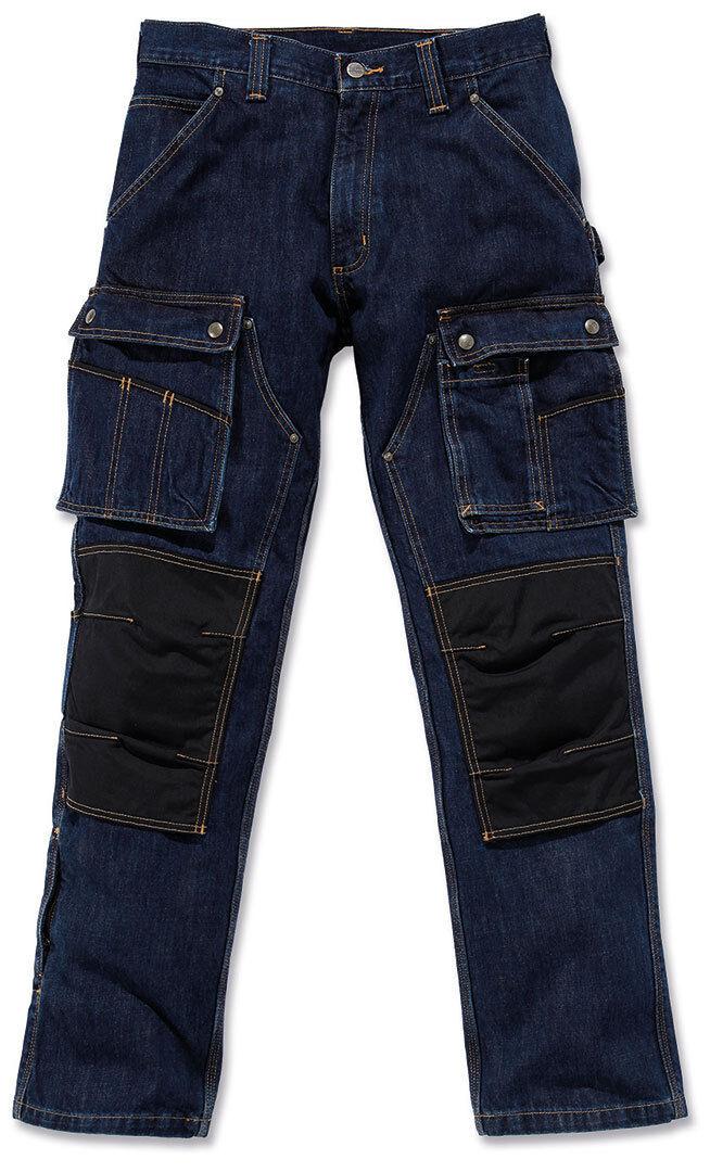 Carhartt Denim Multi Pocket Tech Pantalones Azul 30