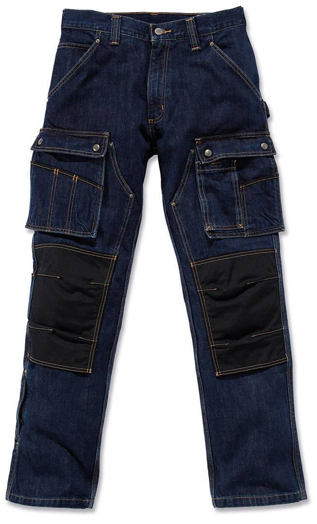 Carhartt Denim Multi Pocket Tech Pantalones Azul 30