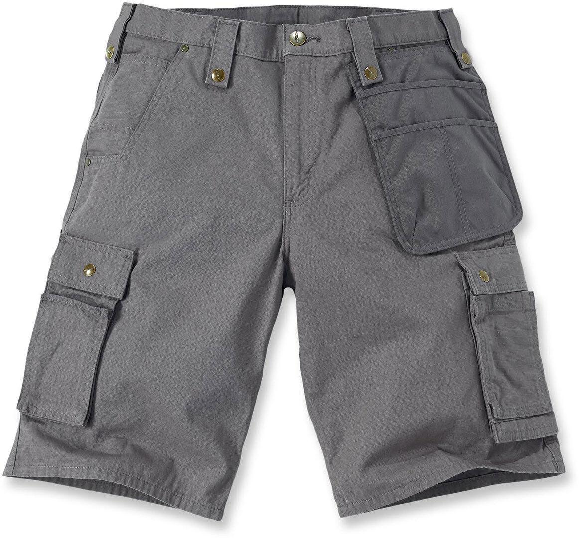 Carhartt Multi Pocket Ripstop Pantalones cortos Gris 38