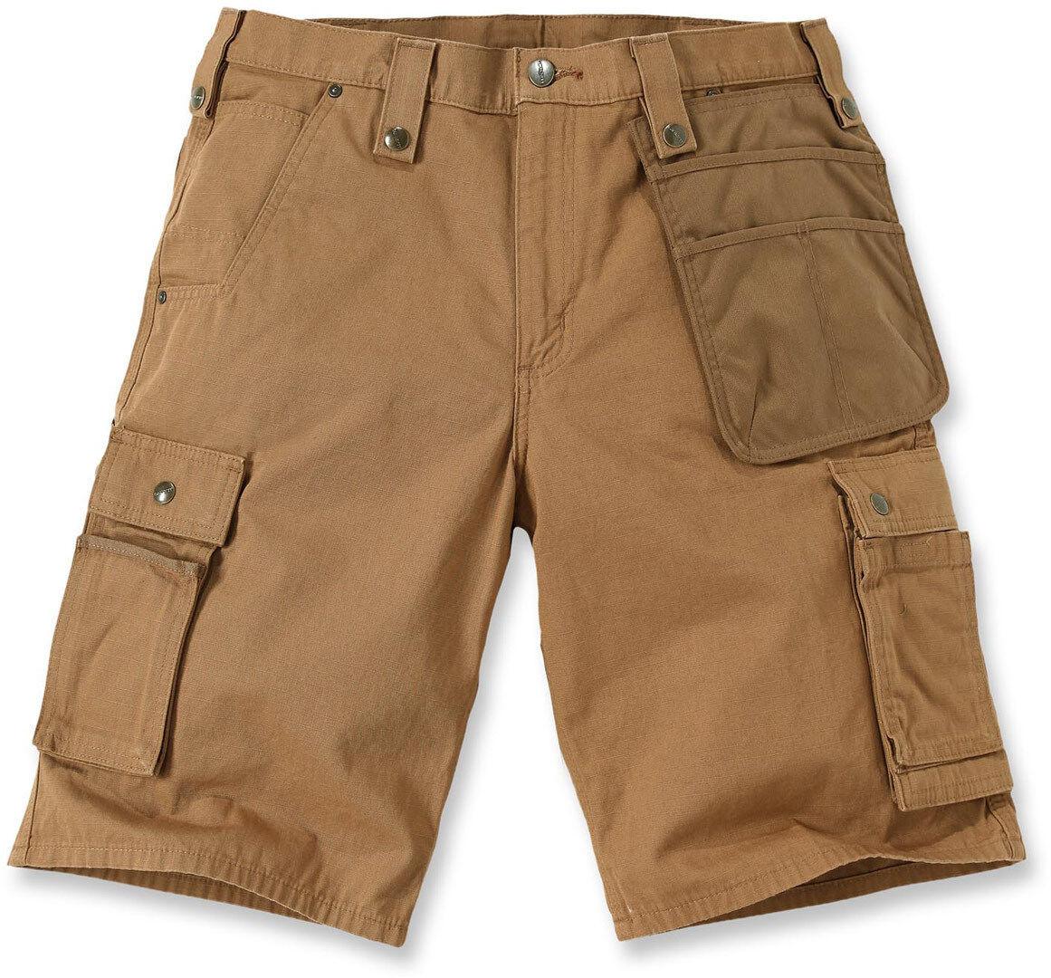 Carhartt Multi Pocket Ripstop Pantalones cortos Marrón 38