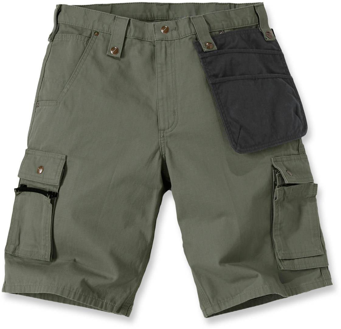 Carhartt Multi Pocket Ripstop Pantalones cortos Verde 36
