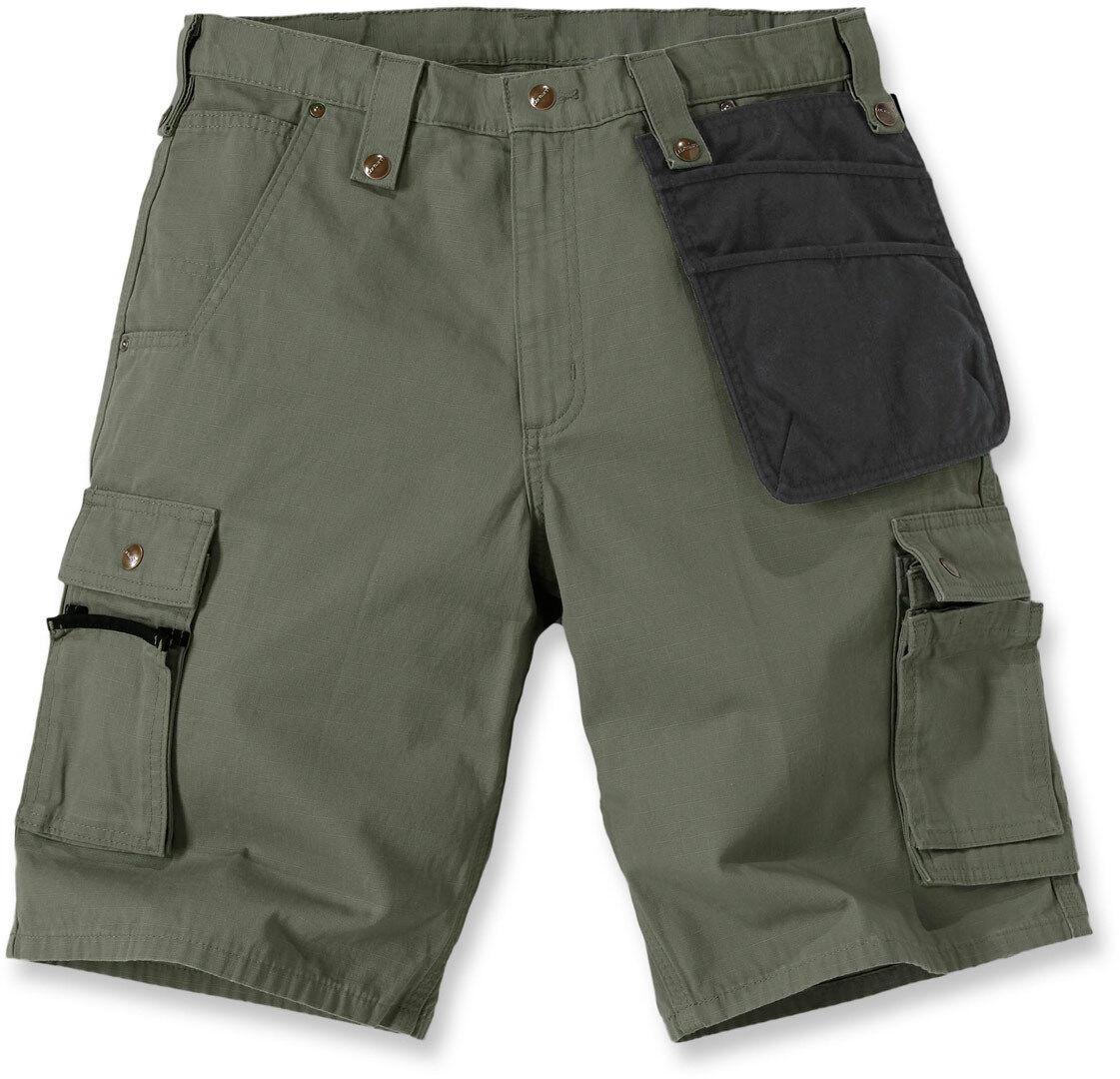 Carhartt Multi Pocket Ripstop Pantalones cortos Verde 38