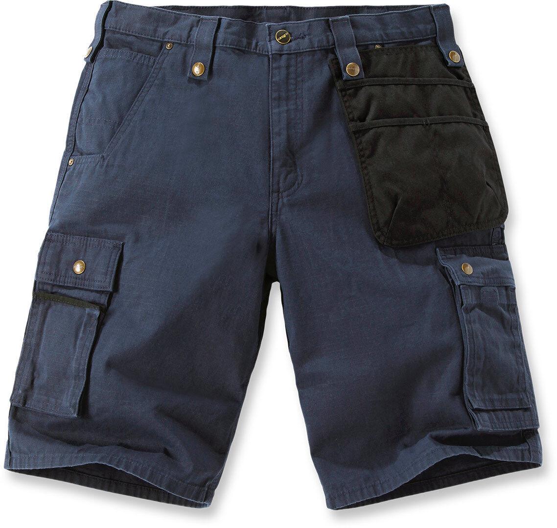 Carhartt Multi Pocket Ripstop Pantalones cortos Azul 34