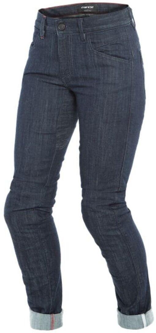 Dainese Alba Slim Pantalones vaqueros de las señoras motos