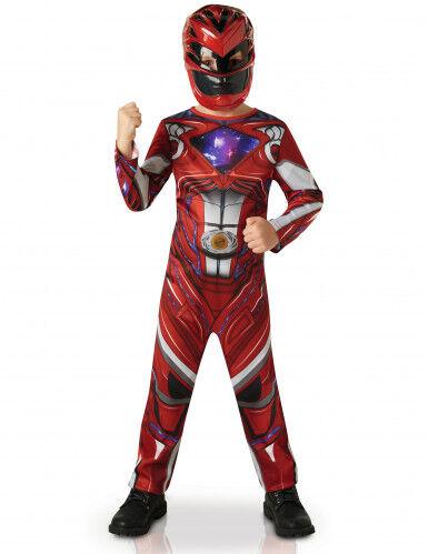 Disfraz Power Rangers rojo - Película 3 a 4 años (90 a 104 cm)