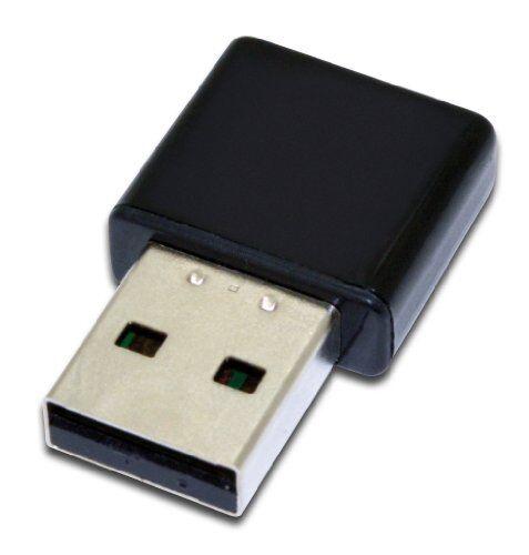 Assmann Electronic DN-70542 - Adaptador de Red USB (Inalámbrico, USB, WLAN, 300 Mbit/s, Realtek 8192 2T/2R, IEEE 802.11b, IEEE 802.11g, IEEE 802.11n), Negro