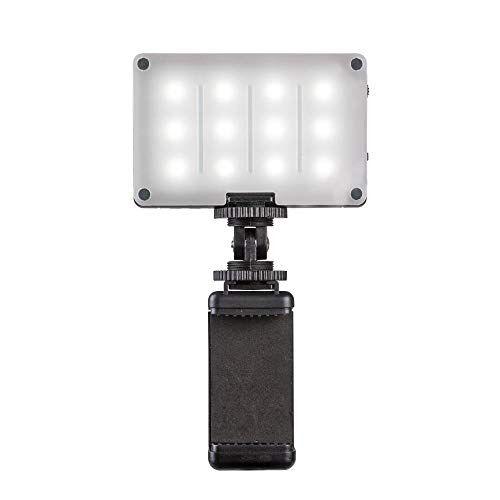 Pictar Smart Light - Luz LED Compacta, Accesorios para Fotos, Fuente de Luz para Cámara, Flash, Accesorios para Cámara, Accesorios para Smartphone