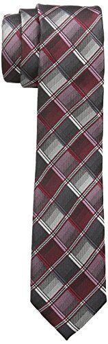 GOL Krawatte Corbata, Rojo (Bordo 77), Talla única para Niños