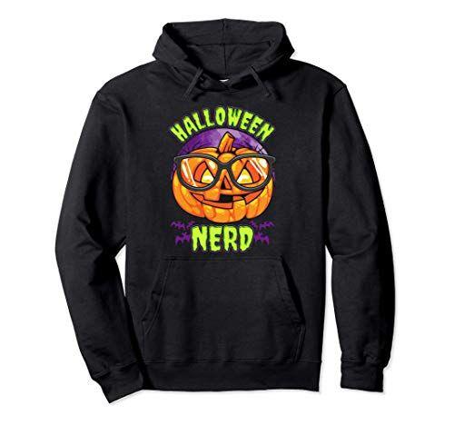 Halloween Nerd Designs Halloween Nerd   Geek Halloween Meme Sudadera con Capucha
