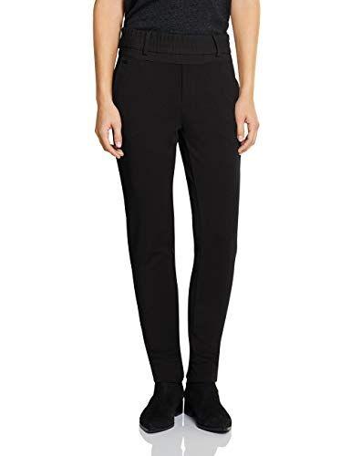 Street One 372695 Fay Loose Fit Pantalón, Negro, 40 W/30 L para Mujer