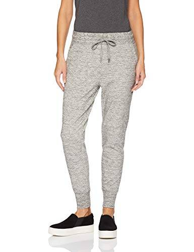 Daily Ritual Terry Cotton and Modal Jogger Athletic-Sweatpants, Heather Space Dye, US (EU XS-S)
