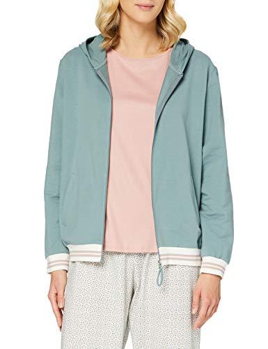 Calida Favourites Sunkiss Camiseta de Pijama, eucalipto, S para Mujer