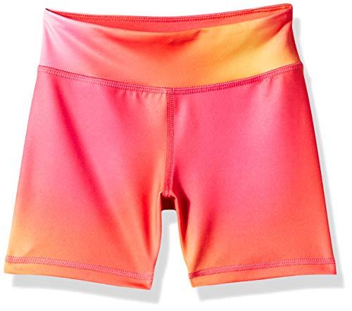 Amazon Essentials - Pantalones cortos deportivos elásticos para niña, Rosa Degradado, US 2T (EU 92-98)