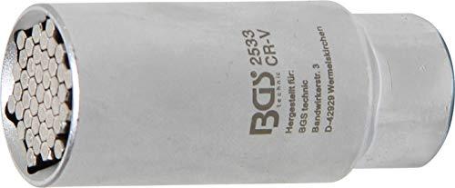 BGS technic BGS 2533   Llave de vaso multimedida   entrada 10 mm (3/8