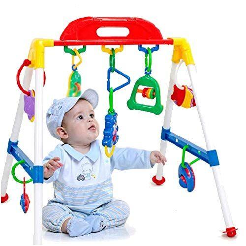 0Miaxudh - Juguete para bebé para gimnasio, crossbar, triángulo, redondo, para jugar, para niños, regalo de cumpleaños