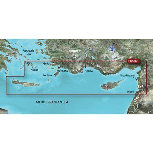 Garmin 010-C0850-00 software de navegacíon - Software de navegación (Crete-Cyprus)