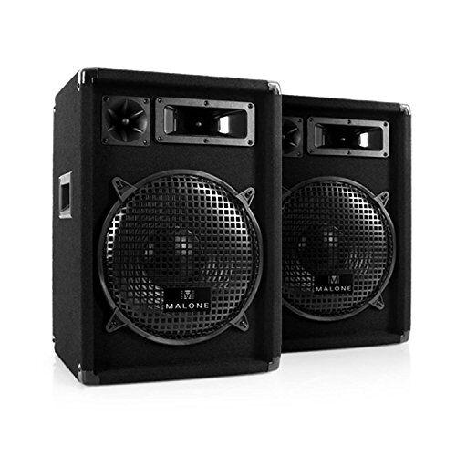 Electronic-Star Nizza Nights Equipo DJ PA 1 x Amplificador 2 x Altavoz