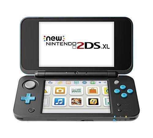 Nintendo New Nintendo 2DS XL, Nero/Turchese [Importación italiana]