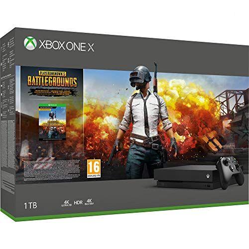 Microsoft Xbox One X 1Tb + PlayerunknowS Battlegrounds [Bundle] [Importación italiana]