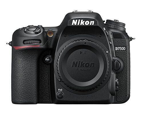 Nikon Nikkon D7500 - Cámara réflex digital de 20.9 Mp (pantalla LCD 3.2