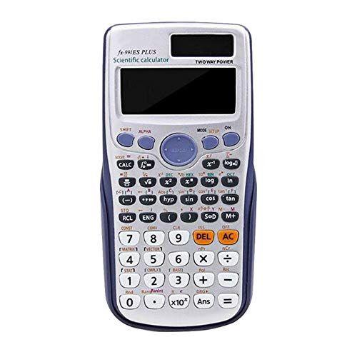 LERDBT Calculadora Informática De Función Completa Calculadora De Escritorio Con Función Estándar Empresarial Funciona Con PilasElectrónica Para Oficina Comercial