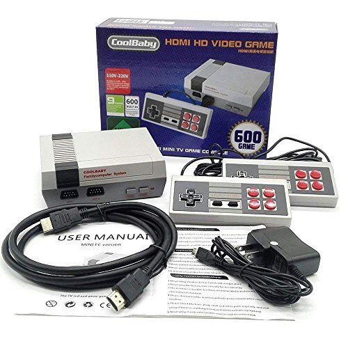 SLH Family Mini Consola Construido en 600 Seccion Versiones Clsicas HDMI Videojuegos