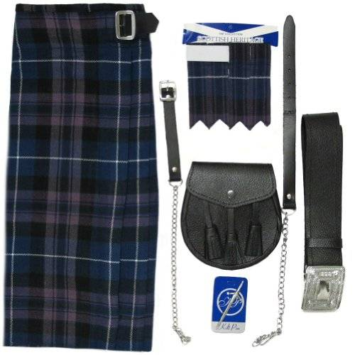 Tartanista Conjunto para hombre - Kilt escocs/sporran/complementos - Honour Of Scotland - UK36 (91 cm)