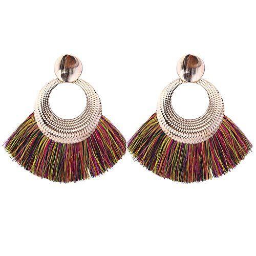 Jewelry CCF Borlas pendientes moda personalidad complementos color bisutería.