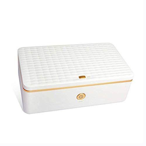 WNZL Caja de limpiador UV profesional con ozono sanitizante para bebé, teléfono celular, herramientas de belleza, ropa interior, equipo de salón de uñas, anteojos, joyería, vajilla