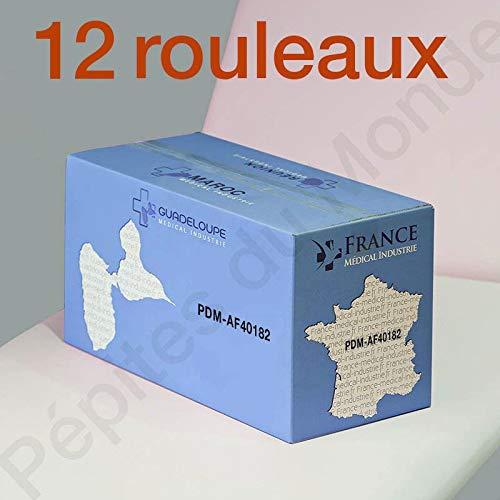 PEPITES DU MONDE - Papel higiénico mini Jumbo T180 metros de guata de celulosa 2 x 17 g/m2, cartón 12 rlx papel higiénico - PDM40182