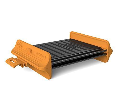 Morphy Richards 511646 Mico Grill Utensilios de cocina para microondas, silicona y metal recubierto, naranja