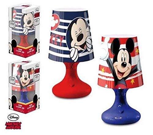Disney Lampada da Comodino DISNEY MICKEY MOUSE Camera da Letto per Bambini in Azul - LR2299