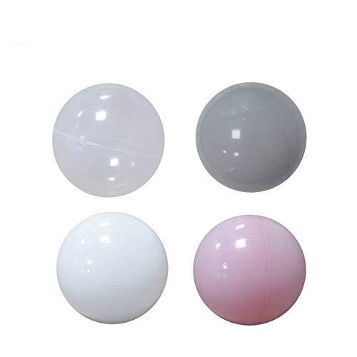 Losenlli 50 Unids Bolas De Plástico Coloridas Bolas Oceánicas Juguete Suave Bebé Niño Juguete de Natación Para Niños Regalo Ola Oceánica Bola de juguete