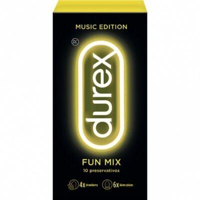 Durex Profilacticos  Music Fun Mix, 10 un