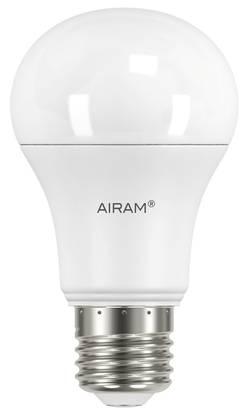 Airam Led-lamppu 9W / 827 E27 2 kpl