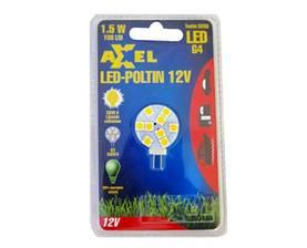 Axxel LED-poltin 12 V G4-9SMD