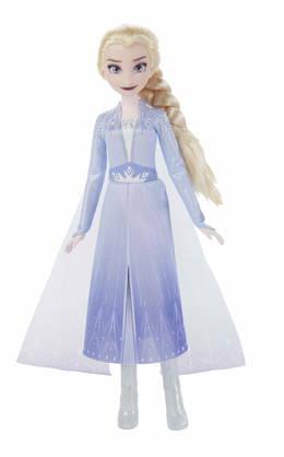 Hasbro Elsa Frozen II Singing Doll Laulava nukke hohtavassa mekossa