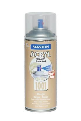 Maston ONE Cream RAL 9001 Satin 400 ml Spraymaali