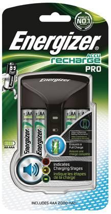Energizer AA / AAA NiMH Akkulaturi 4x AA/HR6 2000 mAh