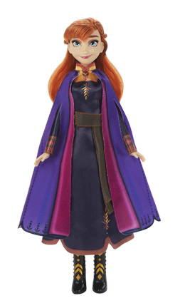 Hasbro Anna Frozen II Singing Doll Laulava nukke hohtavassa mekossa