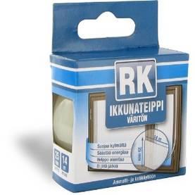 RK Ikkunateippi 25 mm 14 m kirkas