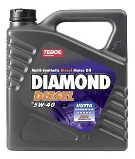 Teboil Diamond Diesel 5W-40 4 l Moottoriöljy