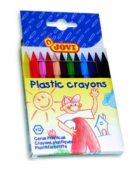 Jovi Väriliitu muovi Jovi 12-väriä pahvirasiassa