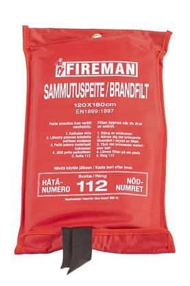 Sammutuspeite Fireman 120x180 cm EN18769:1997