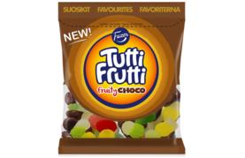 Fazer Tutti Frutti Fruity Choco 170 g Pussi
