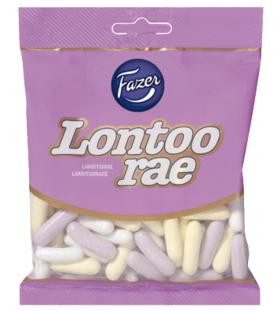 Fazer Lontoon rae 150 g Lakritsirakeet pussissa