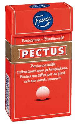 Fazer Pectus pastillirasia 40 g Fazer