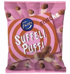 Fazer Suffeli puffi snacks 180 g