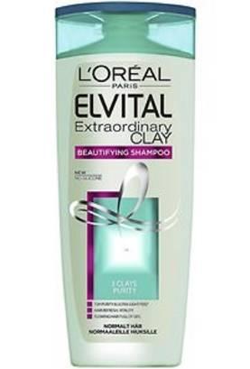 Loreal Shampoo Elvital 250 ml Extraordinary Clay