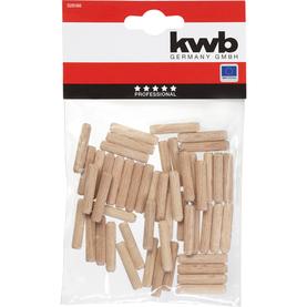 kwb Puutappi 200 kpl 6 mm